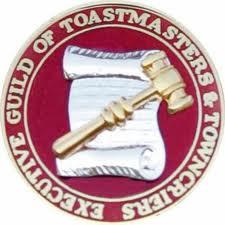 Executive Guild Toast masters Logo