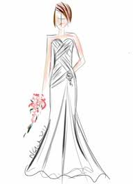 Naomi Gown in Sketch Form